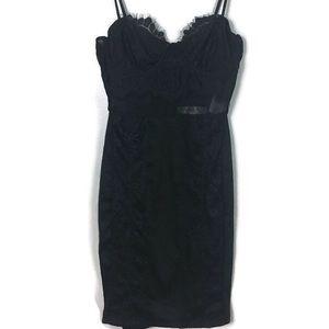 NWT Row A Lacy Bodycon Dress XS